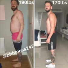 BH Fitness - Client Before & After